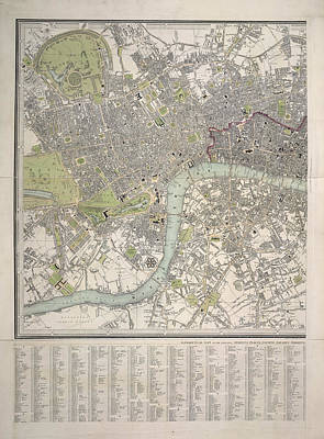 Hyde Park Photograph - London And Westminster by British Library