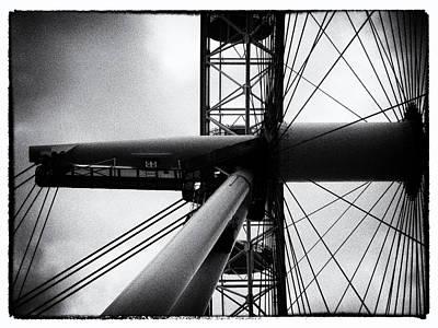 Airways Photograph - London Eye by Sharon Lisa Clarke