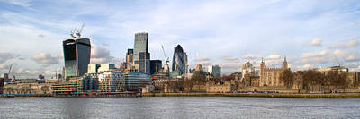 Photograph - London Skyline by Chris Day