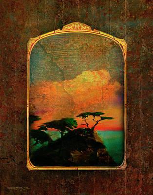 Painting - Lone Cypress by Patrick J Osborne