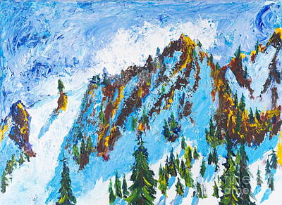 Painting - Lone Tree 2 by Walt Brodis