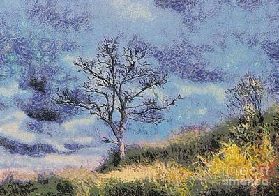 Lonely Tree Art Print by Odon Czintos