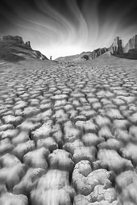 Landscapes Digital Art - Long Walk by Mike McGlothlen
