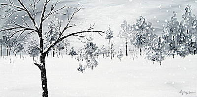 Painting - Long Winter by Kume Bryant