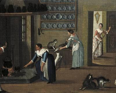 Longhi, Pietro, School Of Second Half Art Print by Everett
