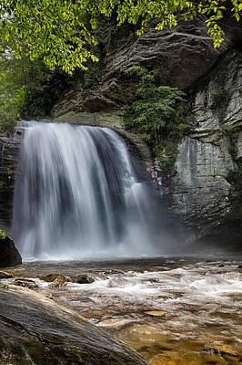 Photograph - Looking Glass Falls by John Haldane
