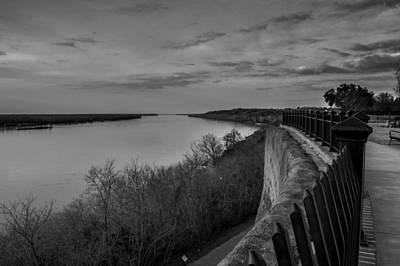 Natchez Photograph - Looking North by Michael Chapman