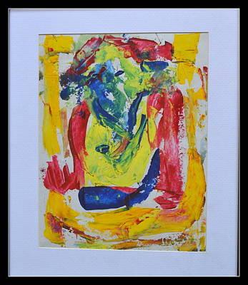 Painting - Lord Ganesha-1 by Anand Swaroop Manchiraju