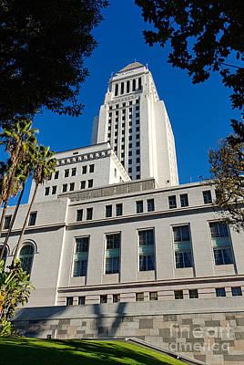 Los Angeles City Hall Art Print