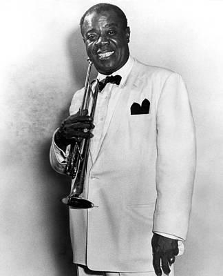 Louis Armstrong (1900-1971) Art Print by Granger