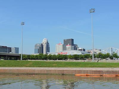 City Photograph - Louisville Skyline by Cityscape Photography