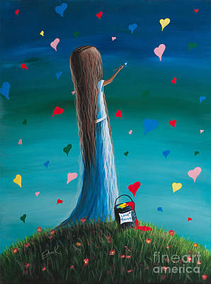 Child Painting - Love Therapy By Shawna Erback by Shawna Erback