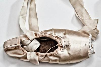 Love Written With Ballet Shoes Print by 2014 Ap
