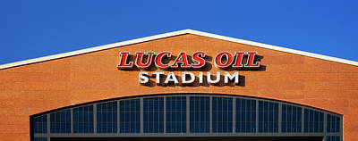 Low Angle View Of A Stadium, Lucas Oil Art Print by Panoramic Images