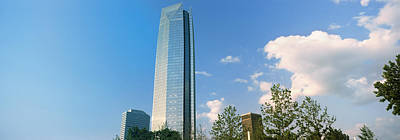 Devon Tower Photograph - Low Angle View Of The Devon Tower by Panoramic Images