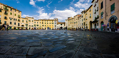 Photograph - Lucca Italy by Carl Amoth