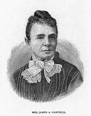 Lucretia Garfield (1832-1918) Print by Granger