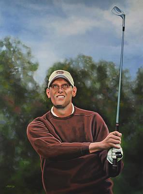Golf Course Painting - Maarten Lafeber  by Paul Meijering
