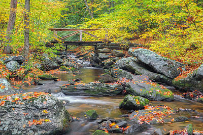 Mountain Stream Photograph - Macedonia Brook by Bill Wakeley