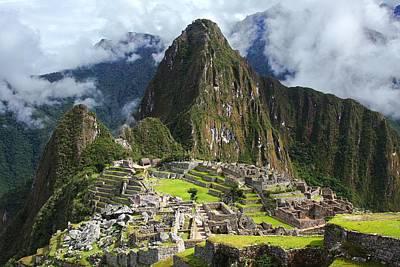 Peru Photograph - Machu Picchu by Dan Breckwoldt