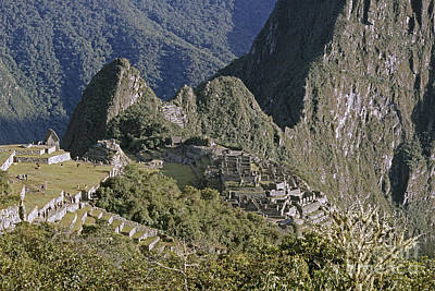 Photograph - Machu Picchu Peru by Rudi Prott