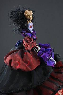 Sculpture - Mad Queen by Judy Henninger