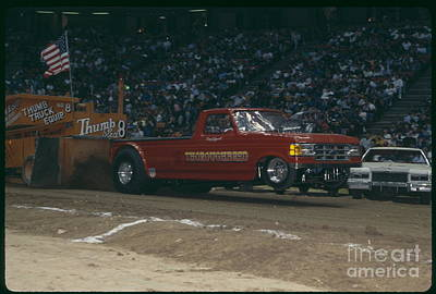 Monster Truck Photograph - Madison Square Garden Monster Truck Show Thoroughbred by Antonio Martinho