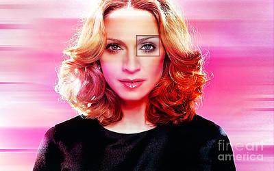 Madonna  Art Print by Marvin Blaine