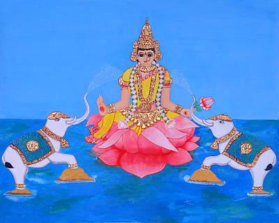 Painting - Mahalakshmi by Pratyasha Nithin