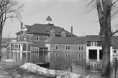 Carter Lake Photograph - Maine Flood, 1936 by Granger