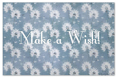 Goals In Life Digital Art - Make A Wish by Sherry Flaker