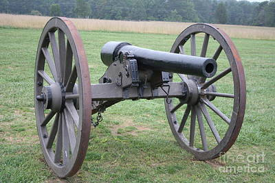 Manassas Battlefield Cannon  Art Print by Christiane Schulze Art And Photography