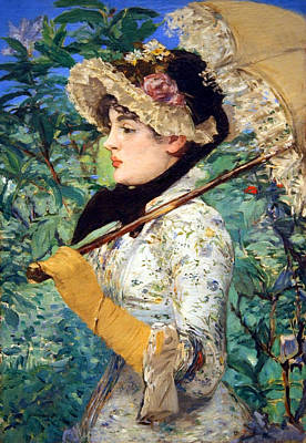 Art Print featuring the photograph Manet's Spring by Cora Wandel