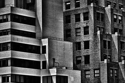 Manhattan Architecture Closeup Art Print by Alyaksandr Stzhalkouski