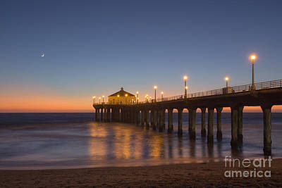 Photograph - Manhattan Beach by Shishir Sathe