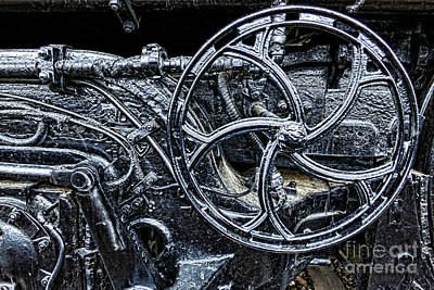 Locomotive Wheels Photograph - Manifold by Olivier Le Queinec