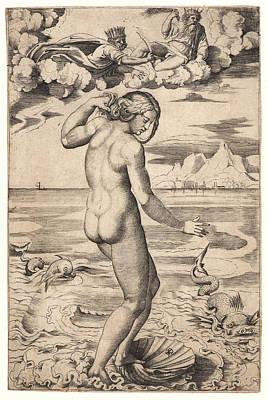Marco Dente Aka Marco Da Ravenna, Italian Art Print
