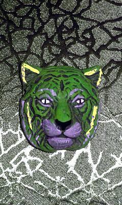 Cheetah Digital Art - Mardi Gras Wildcat  by Joseph Baril