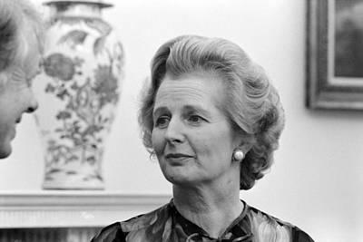 Margaret Thatcher (1925-2013) Art Print by Granger
