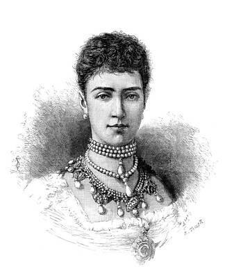 Dagmar Painting - Maria Feodorovna (1847-1928) by Granger