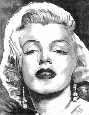Marilyn Art Print by Ariel Davila