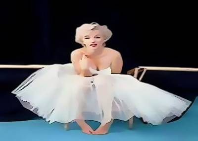 Digital Art - Marilyn Monroe... by Catherine Lott