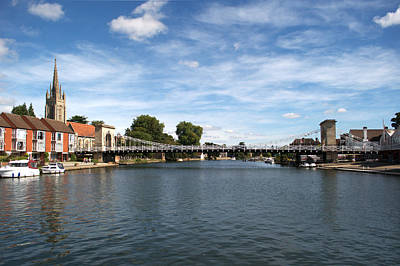 Photograph - Marlow Bridge by Chris Day