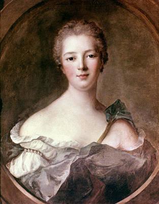 Marquise De Pompadour (1721-1764) Art Print by Granger