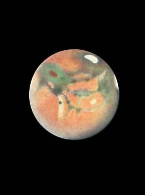 Observer Photograph - Mars by Detlev Van Ravenswaay