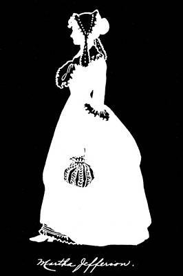 Martha Jefferson Randolph (1772-1836) Art Print by Granger