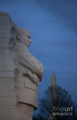 Photograph - Martin Luther King Jr Memorial by Jim West