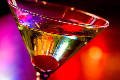 Martini Royalty-Free and Rights-Managed Images - Martini at the Local Pub by Teri Virbickis