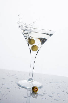 Martini Royalty-Free and Rights-Managed Images - Martini Splash by Erin Cadigan