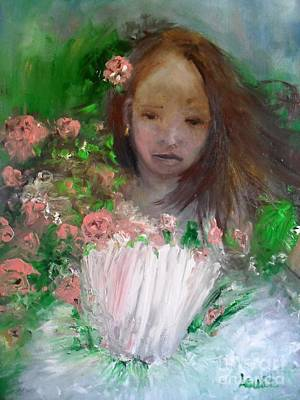 Painting - Mary Rosa by Laurie L